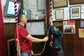 Bell ringing at Linslade