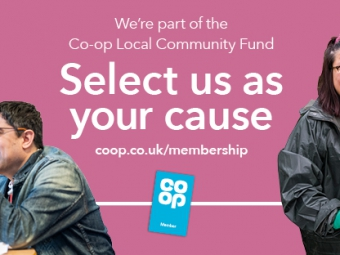 Co-op – Select us as your cause